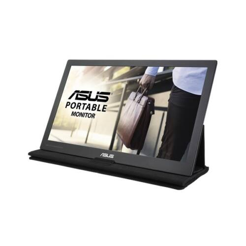 """ASUS MB169C+ LED Monitor 15.6"""" IPS 1920x1080, USB-C, hordozható"""