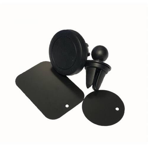 BLACKBIRD Autós Telefontartó Szellőzőrácsra Mágneses, Fekete