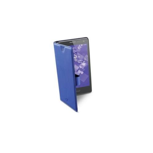 Cellularline Tok, BOOK CASE, univerzális könyvszerűen nyitható tok, Phabletekhez, kék