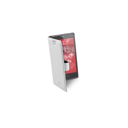 Cellularline Tok, BOOK CASE, univerzális könyvszerűen nyitható tok, XL méret, fehér