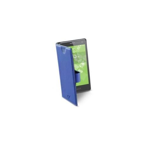 Cellularline Tok, BOOK CASE, univerzális könyvszerűen nyitható tok, XXL méret, kék