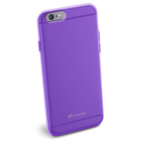 Cellularline Tok, COLOR SLIM, mobiltelefonhoz, gumi, iPhone 6/6S, lila