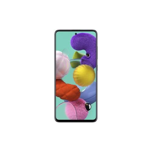 Samsung Galaxy A51 okostelefon LTE 128GB Dual SIM Fekete Fénytörés