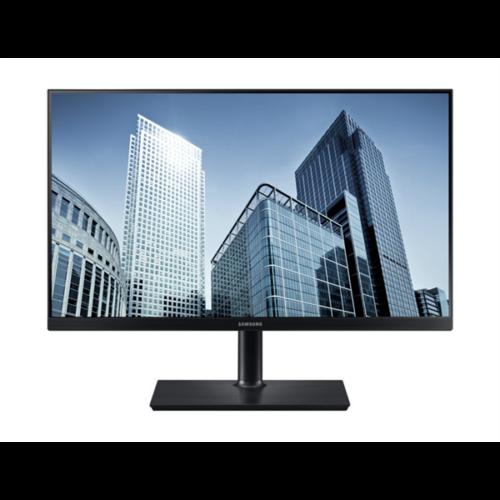"""Samsung PLS WQHD LED B2B Monitor 23,8"""" S24H850QFU, 16:9, 2560x1440, 1000:1, 350cd, 4ms, HDMI, DisplayPort, USB-C"""