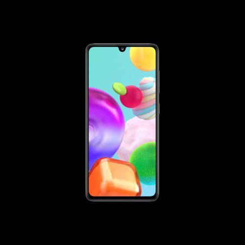 Samsung SM-A415F/DS Fekete  okostelefon / A41 DualSIM/ 64 GB