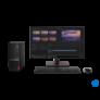 Kép 5/6 - LENOVO  V50s SFF AIO, Intel Core i3 10100 (4C, 4.3GHz), 8GB, 256GB SSD, No OS