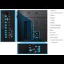 """Kép 6/6 - Samsung LFD LED UHD monitor 49"""" QM49H 3840x2160, 500cd, 5000:1, 8ms"""